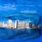 San Diego Skyline Bodypaint